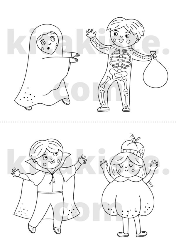 Ausmalbild Halloween Voransicht 2