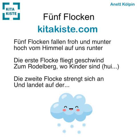 Fingerspiel Winter Kindergarten Voransicht