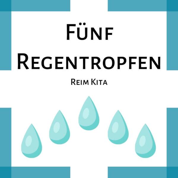 Fingerspiel Kindergarten Regentropfen