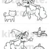 Ausmalbild Halloween Voransicht 4