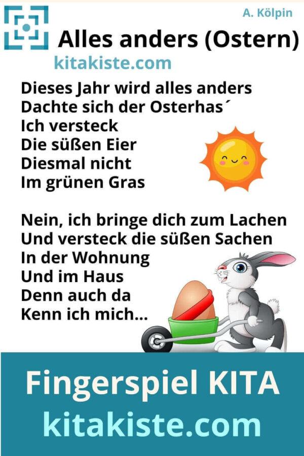 Gedicht Ostern Kindergarten Grundschule Voransicht