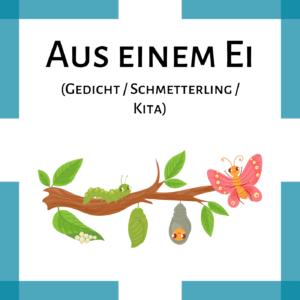 Gedicht Kindergarten Schmetterling icon