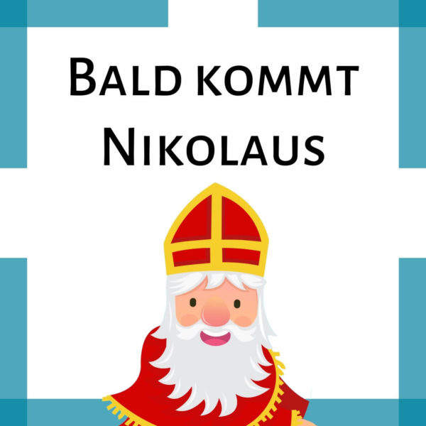 Nikolauslied Krippe icon