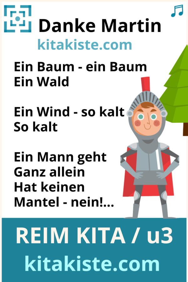 St. Martin-Gedicht Krippe Kindergarten