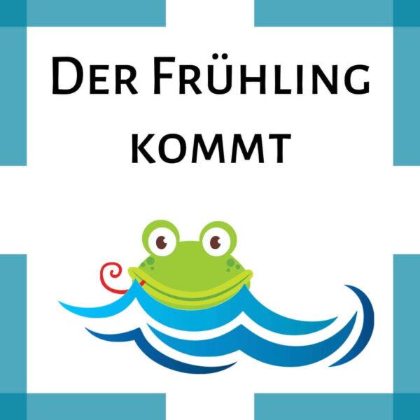 Fingerspiel Frühling Kindergarten icon
