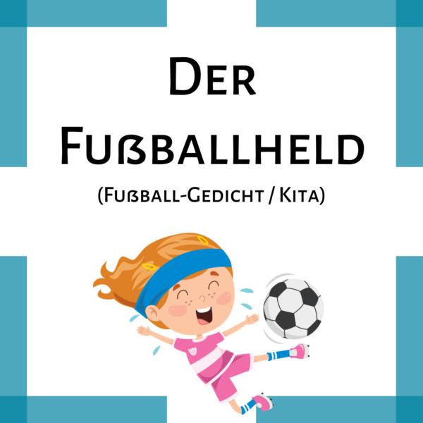 Gedicht Fußball Vorschule Grundschule icon