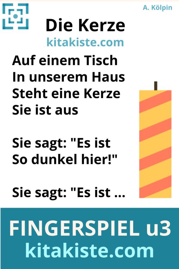 Fingerspiel Krippe Geburtstag Voransicht