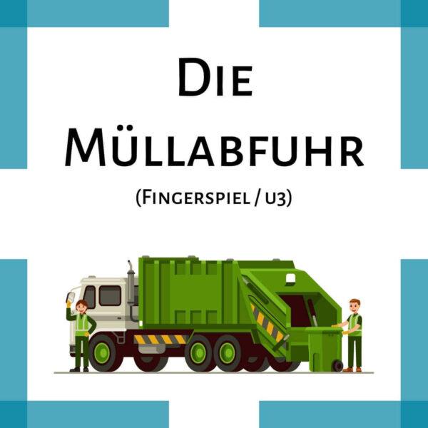 Fingerspiel Müllabfuhr Krippe icon