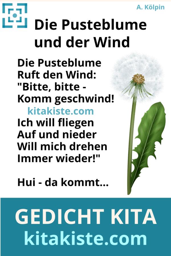 Gedicht Kita Grundschule Voransicht