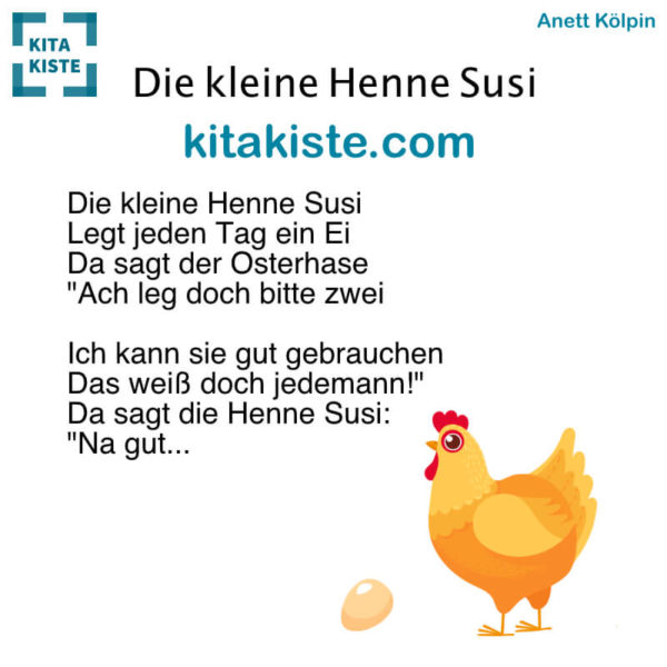 Osterlied Kindergarten Voransicht