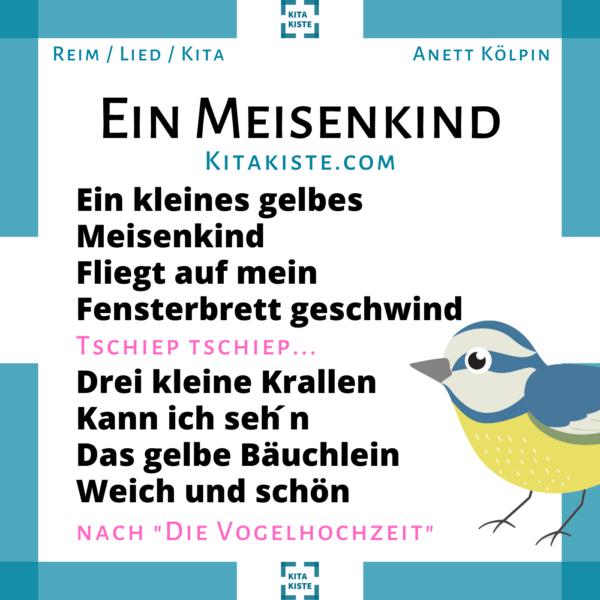 Kinderlied Kindergarten bekannte Melodie Voransicht