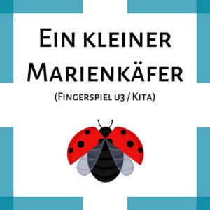 Fingerspiel Marienkäfer u3 Kita icon