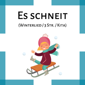 Winterlied Noten Kindergarten icon