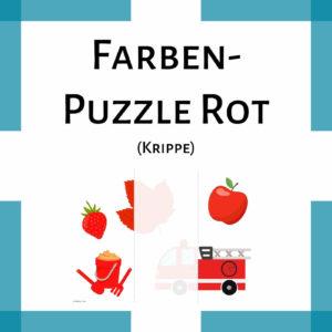 Farben-Puzzle Rot Vora