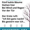 Fingerspiel / Gedicht Herbst Kindergarten