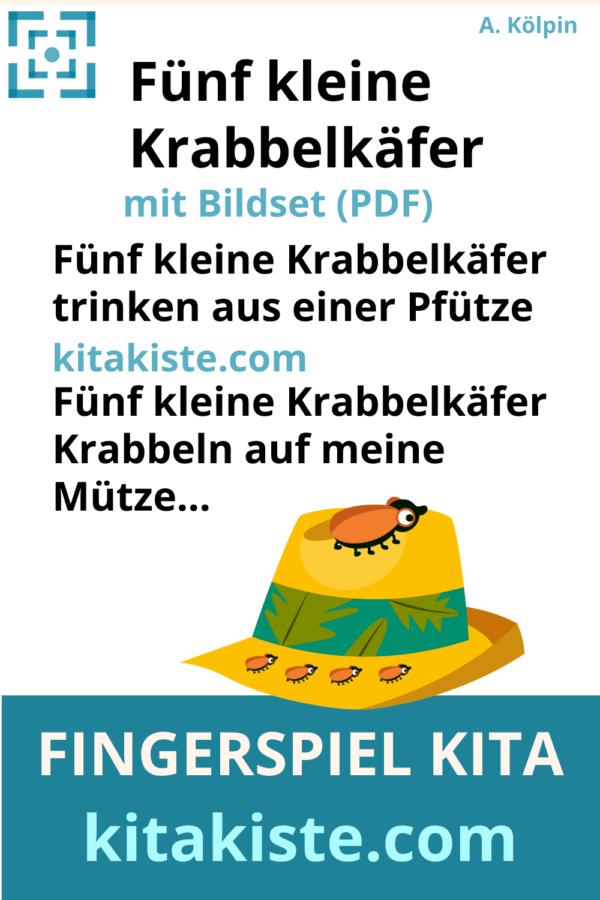Fingerspiel Krabbelkäfer Voransicht