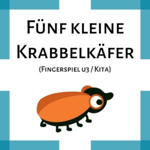 Fingerspiel Käfer Kita u3 icon