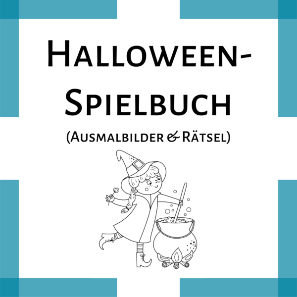 Halloween Ausmalbilder Rätsel Kindergarten icon