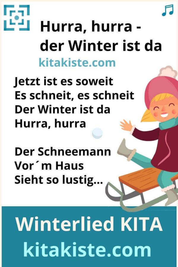 Kinderlied Winter Kindergarten
