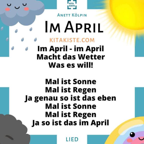 Wetterlied Krippe Kindergarten Voransicht