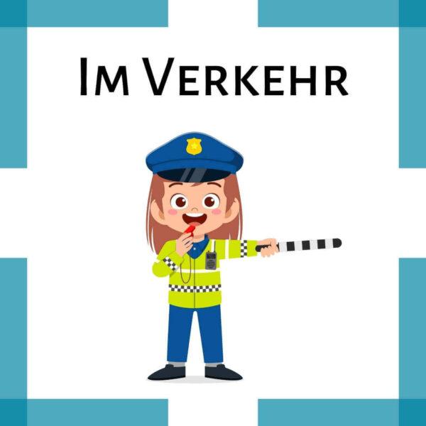 Fingerspiel Polizei Kindergarten icon