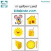 Bildset zum Farb-Fingerspiel gelb Voransicht