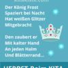 Gedicht Frost Herbst Winter Kindergarten