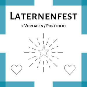 Laternenfest Vorlage PDF