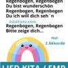 Kinderlied Regenbogen Kindergarten Voransicht