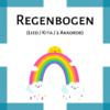 Kinderlied Regenbogen Kindergarten icon