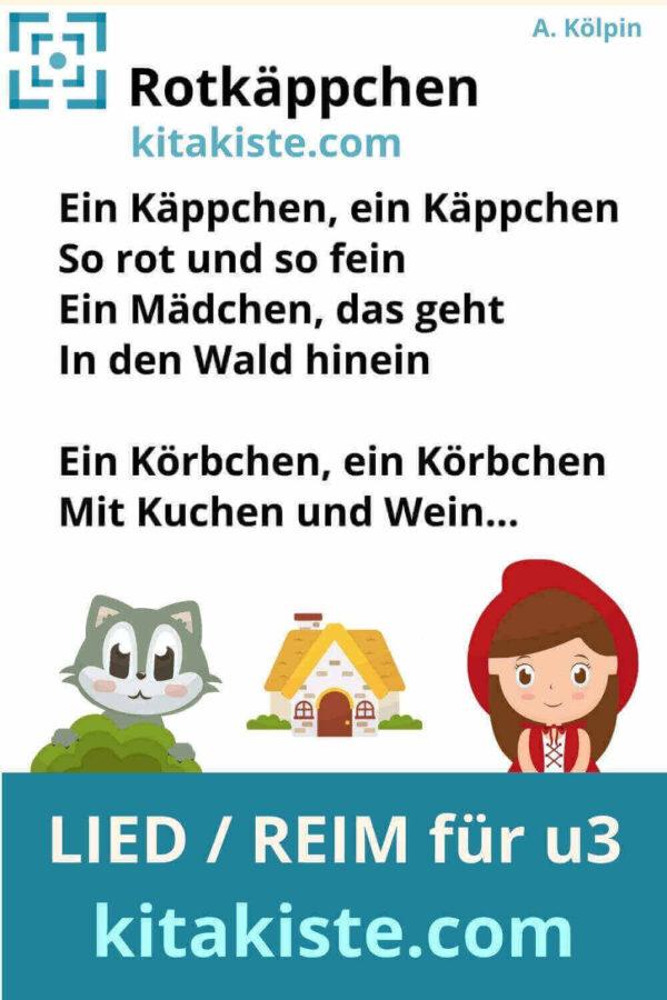 Lied Reim Märchen Krippe u3 Voransicht