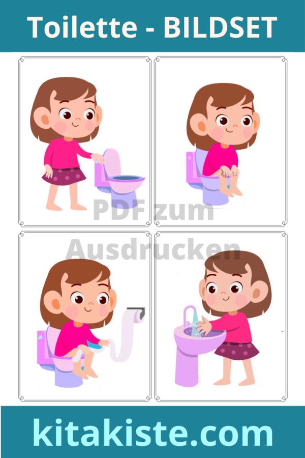 Toilette Bildkarten Voransicht