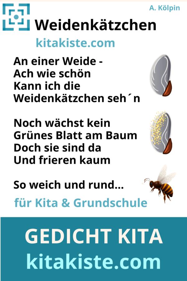 Gedicht Kita Grundschule