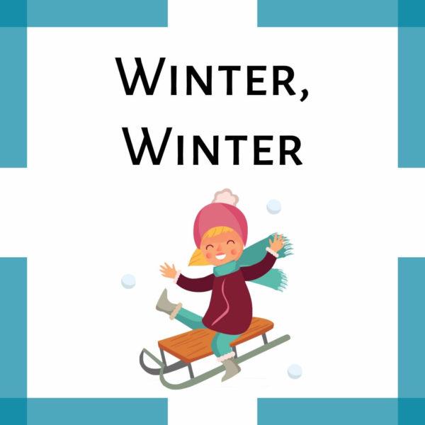 Winterlied Kindergarten icon