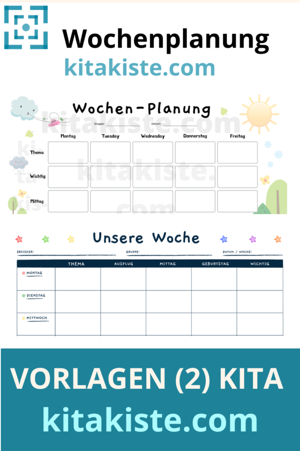 Vorlage Kindergarten PDF