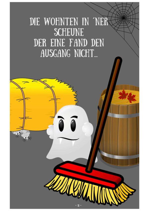 Geister-Gedicht ebook Kindergarten