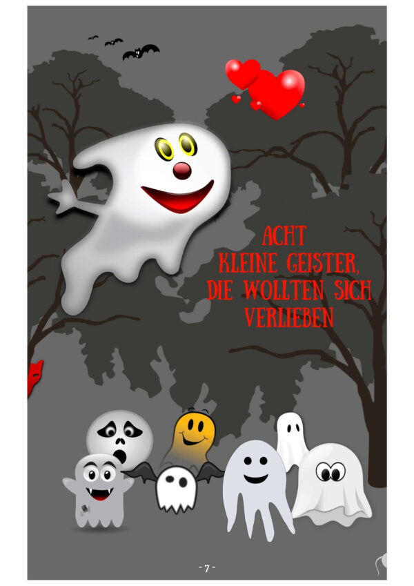 Zehn kleine Geister eBook Kindergarten